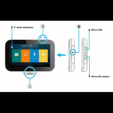 Kb Sound Premium Głośniki Chrom-Mat + DAB+